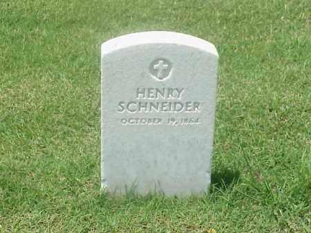 SCHNEIDER, HENRY - Pulaski County, Arkansas   HENRY SCHNEIDER - Arkansas Gravestone Photos