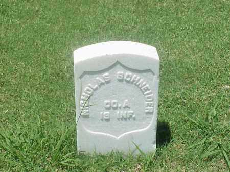 SCHNEIDER (VETERAN UNION), NICHOLAS - Pulaski County, Arkansas | NICHOLAS SCHNEIDER (VETERAN UNION) - Arkansas Gravestone Photos