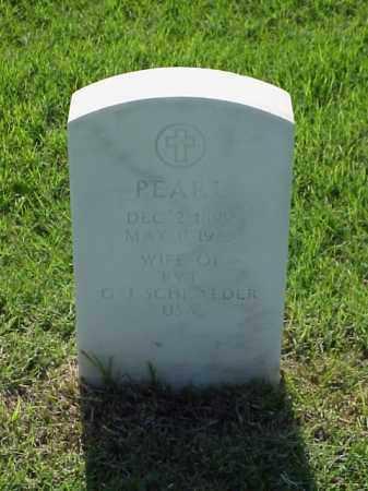 SCHRAEDER, PEARL - Pulaski County, Arkansas | PEARL SCHRAEDER - Arkansas Gravestone Photos