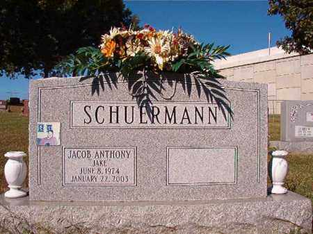 "SCHUERMANN, JACOB ANTHONY ""JAKE"" - Pulaski County, Arkansas   JACOB ANTHONY ""JAKE"" SCHUERMANN - Arkansas Gravestone Photos"