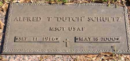 "SCHULTZ (VETERAN), ALFRED T ""DUTCH"" - Pulaski County, Arkansas   ALFRED T ""DUTCH"" SCHULTZ (VETERAN) - Arkansas Gravestone Photos"