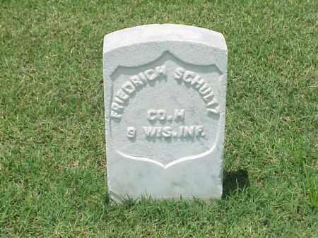SCHULTZ (VETERAN UNION), FREDRICH - Pulaski County, Arkansas | FREDRICH SCHULTZ (VETERAN UNION) - Arkansas Gravestone Photos