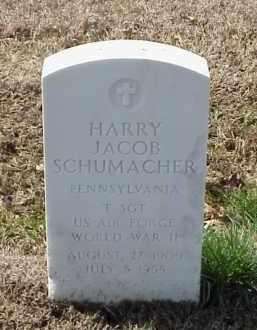 SCHUMACHER  (VETERAN WWII), HARRY JACOB - Pulaski County, Arkansas | HARRY JACOB SCHUMACHER  (VETERAN WWII) - Arkansas Gravestone Photos
