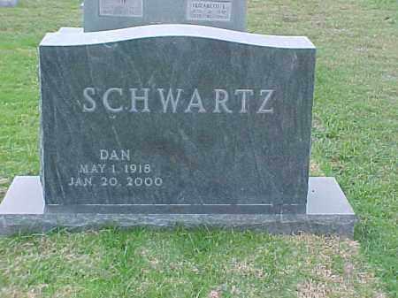 SCHWARTZ, DAN - Pulaski County, Arkansas | DAN SCHWARTZ - Arkansas Gravestone Photos