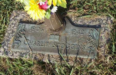 SCOGGINS, CHARLIE - Pulaski County, Arkansas | CHARLIE SCOGGINS - Arkansas Gravestone Photos