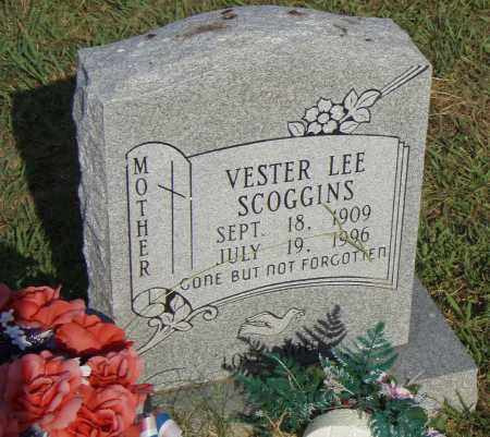 SCOGGINS, VESTER LEE - Pulaski County, Arkansas | VESTER LEE SCOGGINS - Arkansas Gravestone Photos