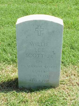 SCOTT, JR (VETERAN KOR), WILLIE LEE - Pulaski County, Arkansas | WILLIE LEE SCOTT, JR (VETERAN KOR) - Arkansas Gravestone Photos