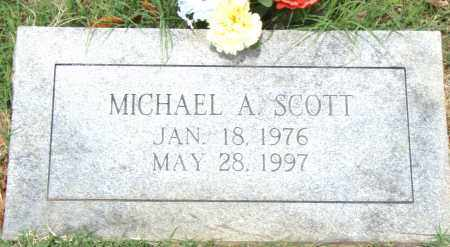 SCOTT, MICHAEL  A. - Pulaski County, Arkansas | MICHAEL  A. SCOTT - Arkansas Gravestone Photos