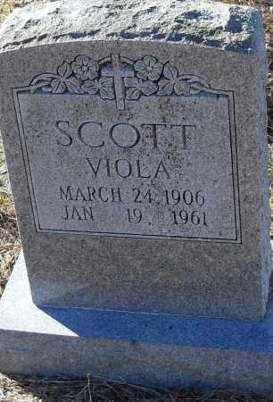 SCOTT, VIOLA - Pulaski County, Arkansas | VIOLA SCOTT - Arkansas Gravestone Photos