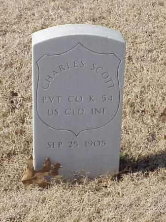 SCOTT (VETERAN UNION), CHARLES - Pulaski County, Arkansas   CHARLES SCOTT (VETERAN UNION) - Arkansas Gravestone Photos
