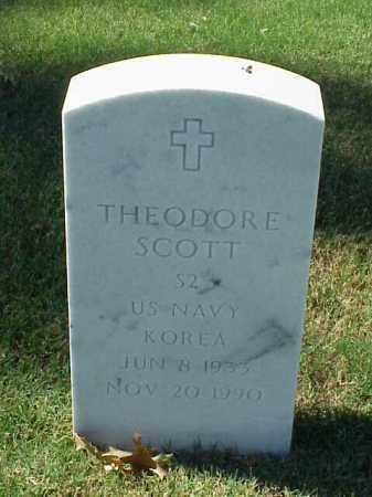 SCOTT (VETERAN KOR), THEODORE - Pulaski County, Arkansas   THEODORE SCOTT (VETERAN KOR) - Arkansas Gravestone Photos