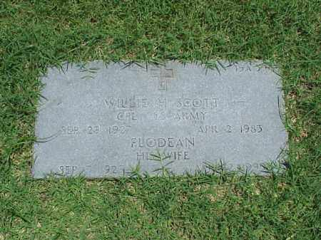 SCOTT (VETERAN KOR), WILLIE H - Pulaski County, Arkansas | WILLIE H SCOTT (VETERAN KOR) - Arkansas Gravestone Photos