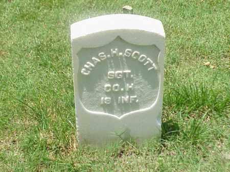 SCOTT (VETERAN UNION), CHARLES H - Pulaski County, Arkansas   CHARLES H SCOTT (VETERAN UNION) - Arkansas Gravestone Photos