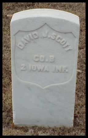 SCOTT (VETERAN UNION), DAVID J - Pulaski County, Arkansas   DAVID J SCOTT (VETERAN UNION) - Arkansas Gravestone Photos