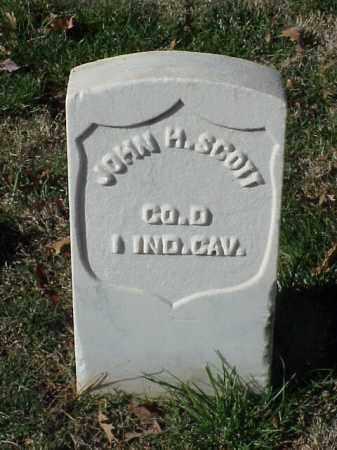 SCOTT (VETERAN UNION), JOHN H - Pulaski County, Arkansas | JOHN H SCOTT (VETERAN UNION) - Arkansas Gravestone Photos