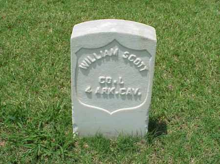 SCOTT (VETERAN UNION), WILLIAM - Pulaski County, Arkansas | WILLIAM SCOTT (VETERAN UNION) - Arkansas Gravestone Photos