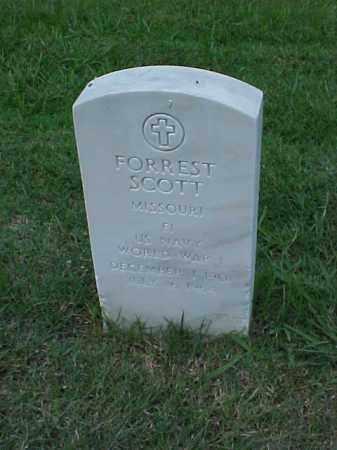 SCOTT (VETERAN WWI), FORREST - Pulaski County, Arkansas   FORREST SCOTT (VETERAN WWI) - Arkansas Gravestone Photos