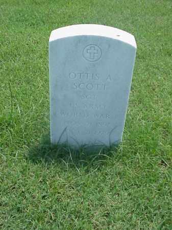 SCOTT (VETERAN WWI), OTTIS A - Pulaski County, Arkansas | OTTIS A SCOTT (VETERAN WWI) - Arkansas Gravestone Photos
