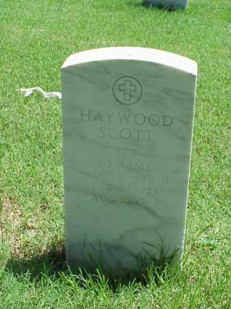 SCOTT (VETERAN (WWII), HAYWOOD - Pulaski County, Arkansas | HAYWOOD SCOTT (VETERAN (WWII) - Arkansas Gravestone Photos