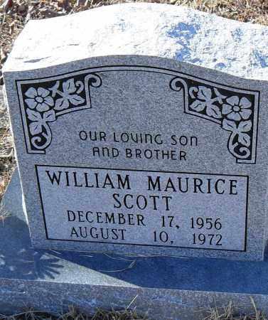 SCOTT, WILLIAM MAURICE - Pulaski County, Arkansas   WILLIAM MAURICE SCOTT - Arkansas Gravestone Photos