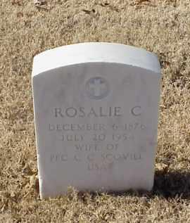 SCOVILL, ROSALIE C - Pulaski County, Arkansas   ROSALIE C SCOVILL - Arkansas Gravestone Photos