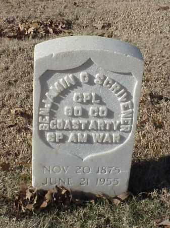 SCRIVENER (VETERAN SAW), BENJAMIN G - Pulaski County, Arkansas | BENJAMIN G SCRIVENER (VETERAN SAW) - Arkansas Gravestone Photos