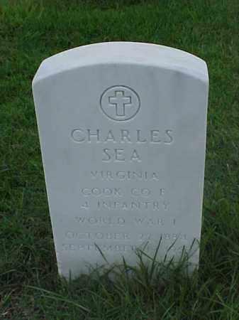SEA (VETERAN WWI), CHARLES - Pulaski County, Arkansas | CHARLES SEA (VETERAN WWI) - Arkansas Gravestone Photos