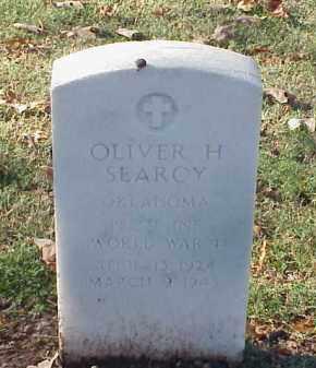 SEARCY (VETERAN WWII), OLIVER H - Pulaski County, Arkansas   OLIVER H SEARCY (VETERAN WWII) - Arkansas Gravestone Photos