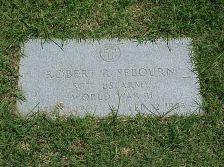 SEBOURN (VETERAN WWII), ROBERT R - Pulaski County, Arkansas | ROBERT R SEBOURN (VETERAN WWII) - Arkansas Gravestone Photos