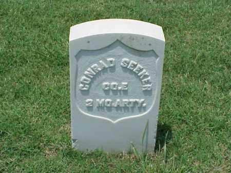 SEEKER (VETERAN UNION), CONRAD - Pulaski County, Arkansas | CONRAD SEEKER (VETERAN UNION) - Arkansas Gravestone Photos