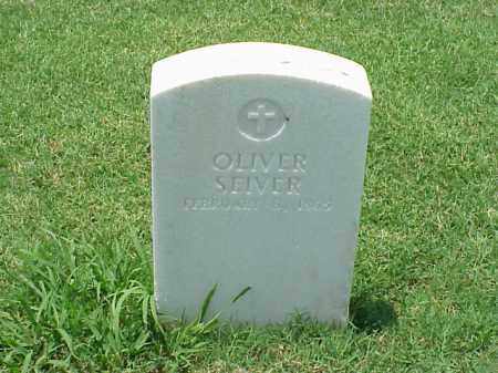 SEIVER (VETERAN CIVIL WAR), OLIVER - Pulaski County, Arkansas | OLIVER SEIVER (VETERAN CIVIL WAR) - Arkansas Gravestone Photos