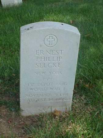 SELCKE (VETERAN WWI), ERNEST PHILLIP - Pulaski County, Arkansas | ERNEST PHILLIP SELCKE (VETERAN WWI) - Arkansas Gravestone Photos