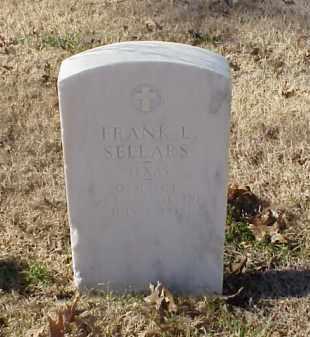 SELLARS (VETERAN), FRANK L - Pulaski County, Arkansas | FRANK L SELLARS (VETERAN) - Arkansas Gravestone Photos