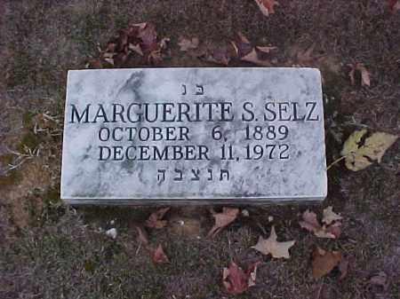 SELTZ, MARGUERITE S - Pulaski County, Arkansas | MARGUERITE S SELTZ - Arkansas Gravestone Photos
