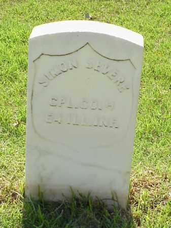 SEVERE (VETERAN UNION), SIMON - Pulaski County, Arkansas   SIMON SEVERE (VETERAN UNION) - Arkansas Gravestone Photos