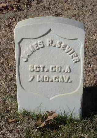 SEVIER (VETERAN UNION), JAMES R - Pulaski County, Arkansas | JAMES R SEVIER (VETERAN UNION) - Arkansas Gravestone Photos