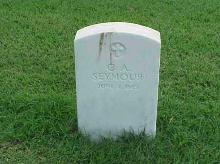 SEYMOUR, C A - Pulaski County, Arkansas   C A SEYMOUR - Arkansas Gravestone Photos