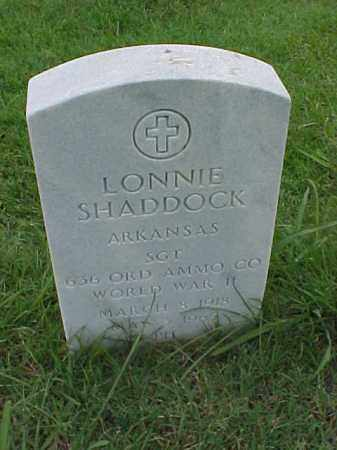 SHADDOCK (VETERAN WWII), LONNIE - Pulaski County, Arkansas   LONNIE SHADDOCK (VETERAN WWII) - Arkansas Gravestone Photos