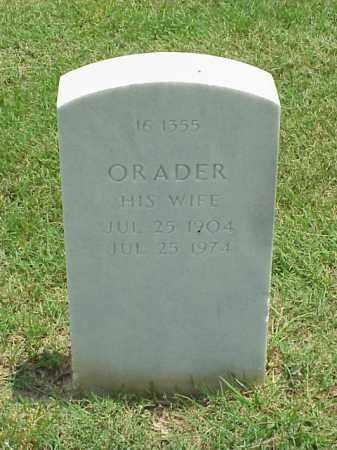 SHADOWVINE, ORADER - Pulaski County, Arkansas | ORADER SHADOWVINE - Arkansas Gravestone Photos