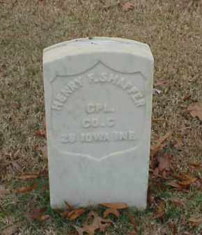 SHAFFER (VETERAN UNION), HENRY F - Pulaski County, Arkansas   HENRY F SHAFFER (VETERAN UNION) - Arkansas Gravestone Photos