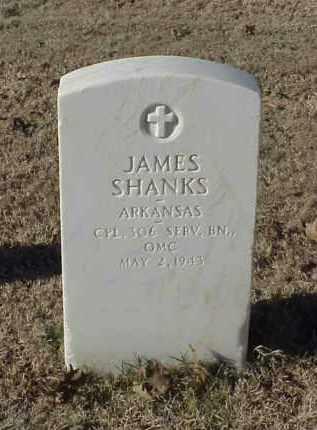 SHANKS (VETERAN WWI), JAMES - Pulaski County, Arkansas | JAMES SHANKS (VETERAN WWI) - Arkansas Gravestone Photos