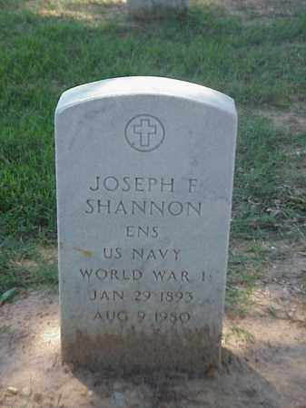 SHANNON (VETERAN WWI), JOSEPH F - Pulaski County, Arkansas | JOSEPH F SHANNON (VETERAN WWI) - Arkansas Gravestone Photos