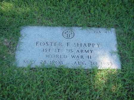 SHAPPY (VETERAN WWII), FOSTER F - Pulaski County, Arkansas   FOSTER F SHAPPY (VETERAN WWII) - Arkansas Gravestone Photos