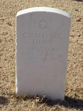 SHARP (VETERAN WWI), CHARLES C - Pulaski County, Arkansas | CHARLES C SHARP (VETERAN WWI) - Arkansas Gravestone Photos