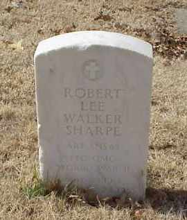 SHARP (VETERAN WWII), ROBERT LEE WALKER - Pulaski County, Arkansas   ROBERT LEE WALKER SHARP (VETERAN WWII) - Arkansas Gravestone Photos