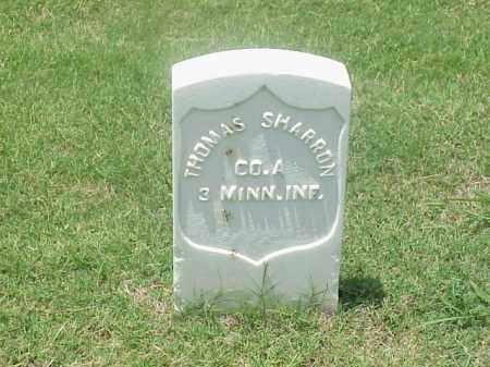 SHARRON (VETERAN UNION), THOMAS - Pulaski County, Arkansas | THOMAS SHARRON (VETERAN UNION) - Arkansas Gravestone Photos