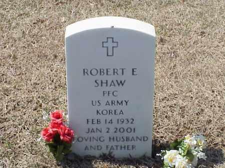 SHAW (VETERAN KOR), ROBERT E - Pulaski County, Arkansas   ROBERT E SHAW (VETERAN KOR) - Arkansas Gravestone Photos