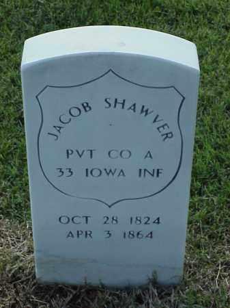 SHAWVER (VETERAN UNION), JACOB - Pulaski County, Arkansas | JACOB SHAWVER (VETERAN UNION) - Arkansas Gravestone Photos