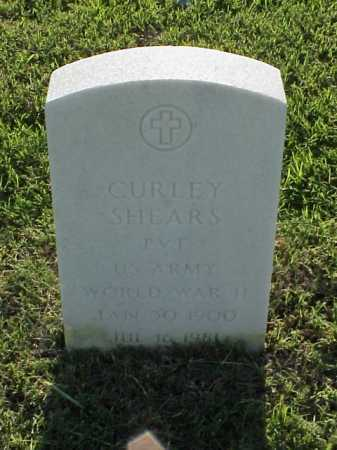 SHEARS (VETERAN WWII), CURLEY - Pulaski County, Arkansas | CURLEY SHEARS (VETERAN WWII) - Arkansas Gravestone Photos
