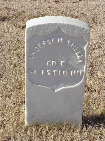 SHELBY (VETERAN UNION), ANDERSON - Pulaski County, Arkansas | ANDERSON SHELBY (VETERAN UNION) - Arkansas Gravestone Photos